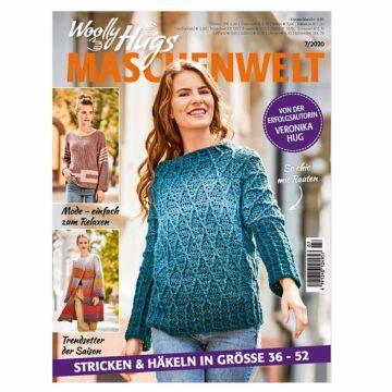 "Heft ""Woolly Hugs - Maschenwelt 07/2020"""