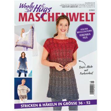 "Heft ""Woolly Hugs - Maschenwelt 03/2021"""