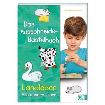 """Das Ausschneide-Bastelbuch """"Landleben"""""""