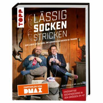 """Buch """"Lässig Socken stricken"""""""