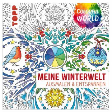 """Buch """"Colorful World - Meine Winterwelt"""""""
