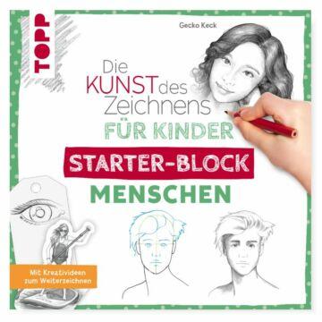 """Starter-Block """"Die Kunst des Zeichnens für Kinder - Menschen"""""""