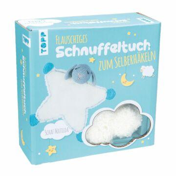 """Häkelset """"Schnuffeltuch Schaf Matilda"""""""