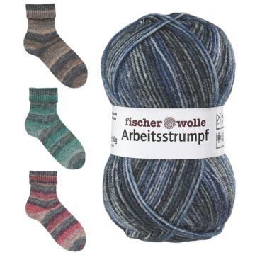 "Arbeitsstrumpf ""Sockenwolle Color"""