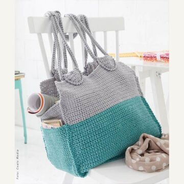 """Gehäkelte Tasche """"Journey"""" SMS8956"""