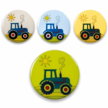 "Knöpfe ""Traktor"""