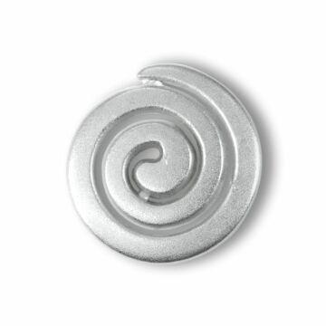 Metallknopf Spirale