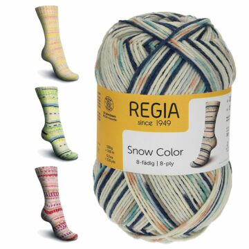 "Regia 8f. ""Snow Color"""