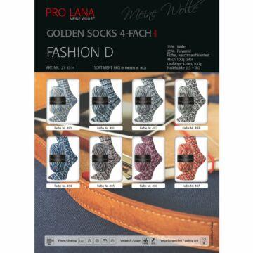 """800g Sparpaket """"Golden Socks Fashion D"""""""