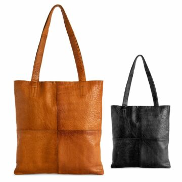 "Ledertasche ""Show medium"""